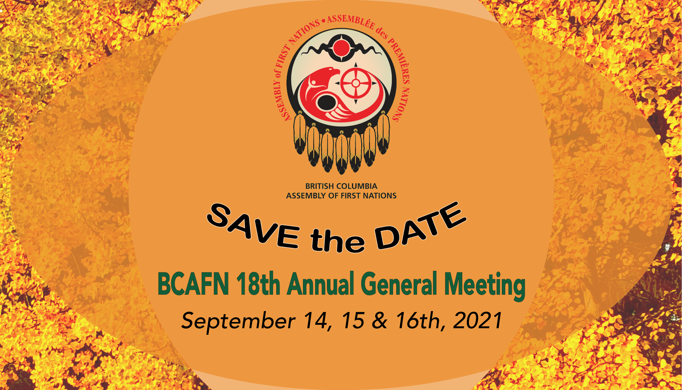 BCAFN AGM 2021 save the date
