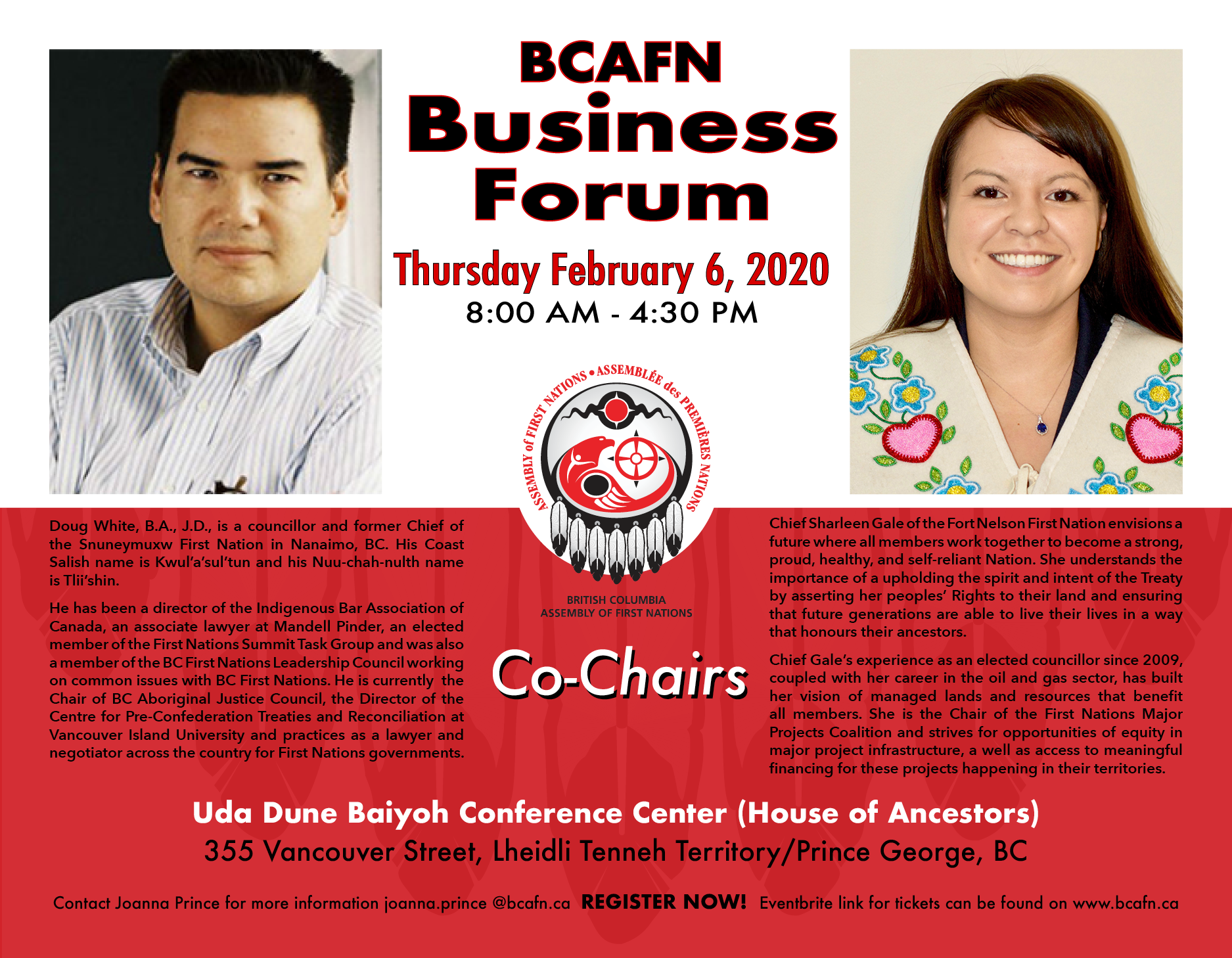 Business Forum Co-Chairs