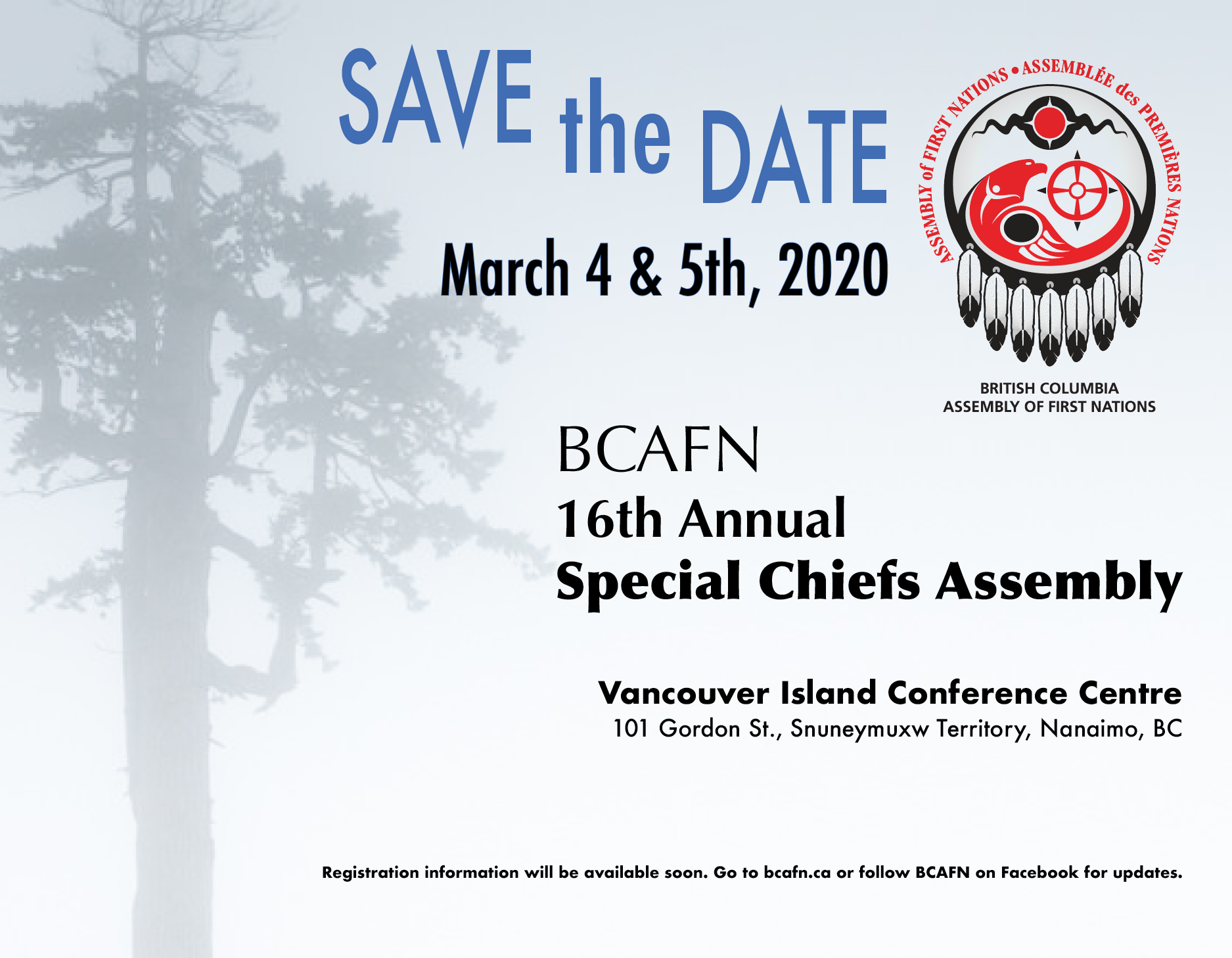 Save the Date March 4 &5- SCA