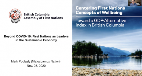 Centering First Nations concepts of Wellbeing screenshot