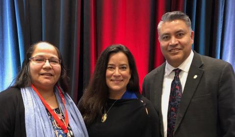 BCAFN Women in Leadership Dialogue Session - Judy Wilson, Jody Wilson-Raybould and BC Regional Chief Terry Teegee